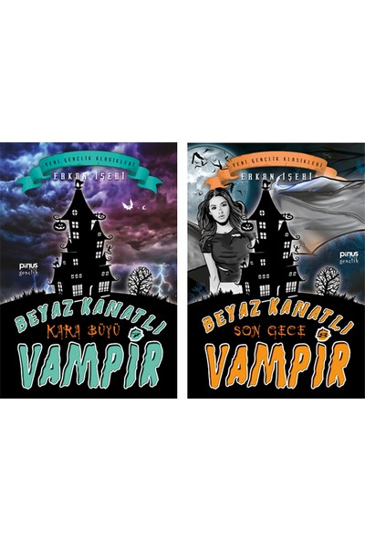 Beyaz Kanatlı Vampir 7 Kara Büyü - Beyaz Kanatlı Vampir 8 Son Gece - 2'li Set