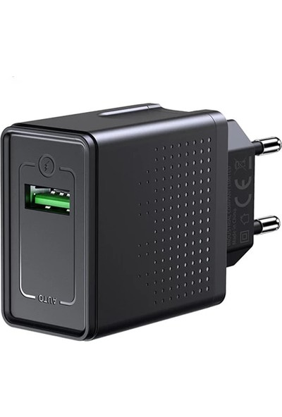 Mcdodo Vooc 22.5W 5.0A Şarj Cihazı + Type C Kablo 1.2mt Siyah CH-5800