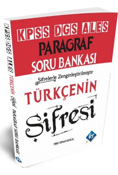 Kr Akademi Yayınları 2021 KPSS Türkçenin Şifresi Paragraf Soru Bankası