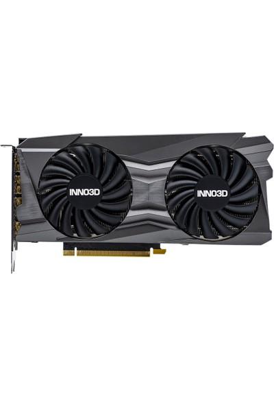 Inno3D Nvidia GeForce RTX 3070 Twin X2 OC 8GB 256Bit GDDR6 DX12 PCI-Express 4.0 Ekran Kartı (N30702-08D6X-1710VA23L)
