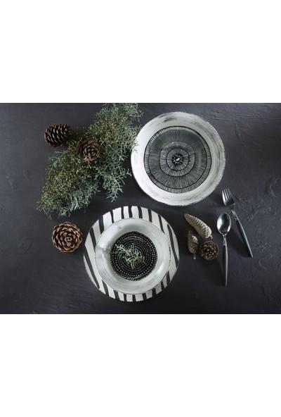Melly & Merry Çizgili Servis 26 cm