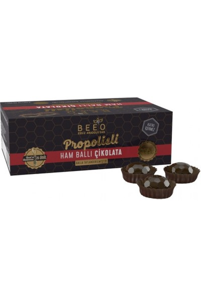 Bee'O Propolisli Ham Ballı Çikolata 60 gr