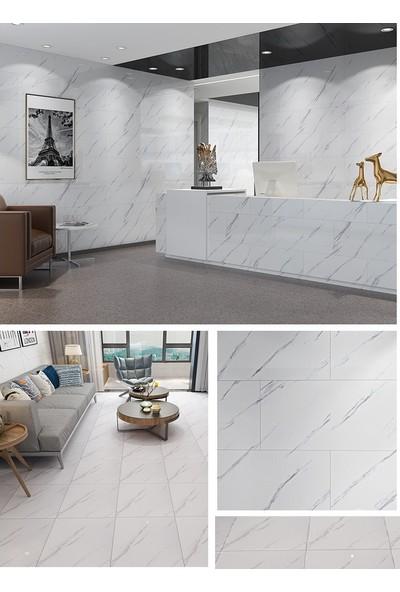 Bellagente Freedeco Kendinden Yapışkanlı Duvar Ve Zemin Paneli 30X60 Cm Beyaz