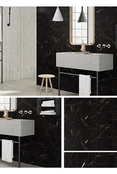 Bellagente Freedeco Kendinden Yapışkanlı Duvar Ve Zemin Paneli 30X60 Cm Siyah