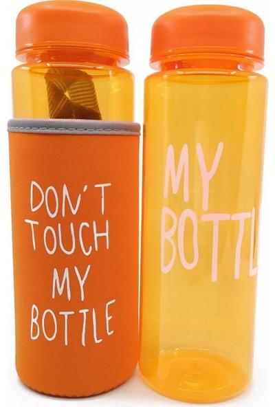 Şeker Ofisi My Bottle Kılıflı Polikarbon Su Matarası Truncu Renk