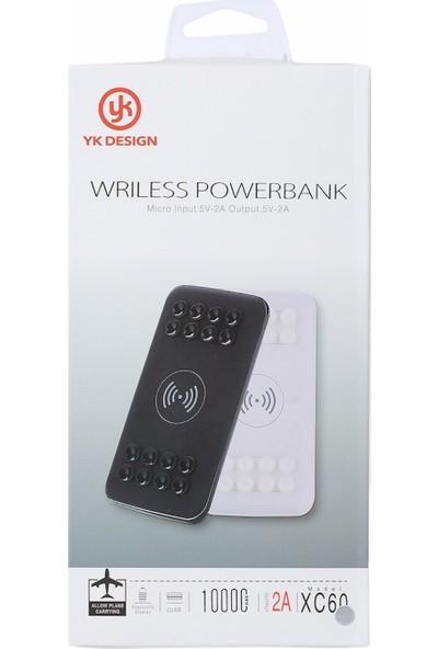 YK Design Kablosuz Powerbank (Vantuzlu)