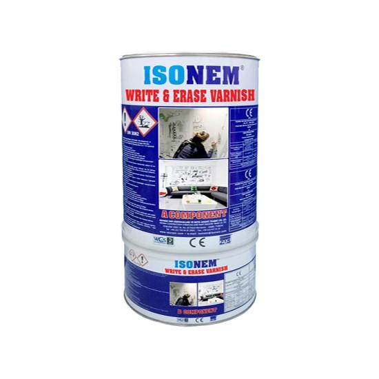 Isonem Wrıte & Erase Varnısh Yaz-Sil Vernik 1,5 kg Set