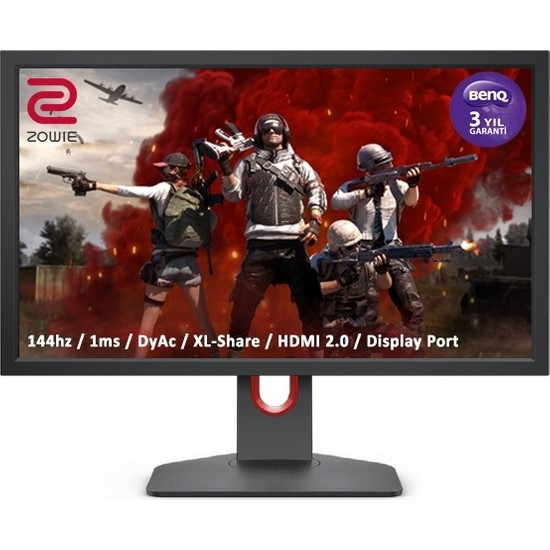 "BenQ Zowie XL2411K 24"" 144Hz 1ms (3xHDMI DP)Full HD TN Dyac Pivot Espor Oyun Monitörü"