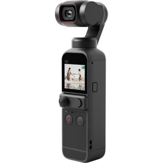 DJI Pocket 2 3 axis - Titreşimsiz Video - 4K - Gimbal Kameralı (DJI Türkiye Garantili)