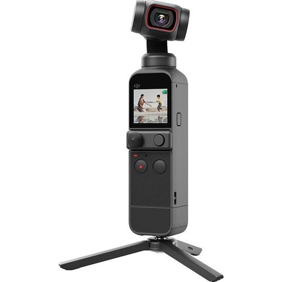 DJI Pocket 2 Creator Combo 3 axis - Titreşimsiz Video - 4K -Gimbal Kameralı (DJI Türkiye Garantili)