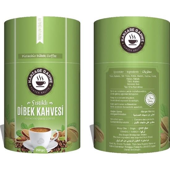 Hanzade Fıstıklı Dibek Kahvesi 250 gr