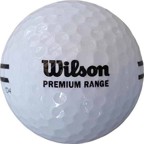 Wilson Wp 115 Premium Range Golf Topu Beyaz Renk