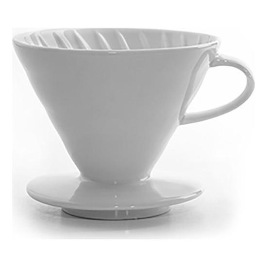 Tabakçı Çanakçı Porselen Kahve Demleme V60 02 - Beyaz