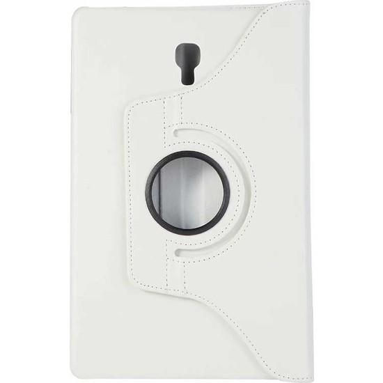 Nihcase Samsung Galaxy Tab S4 T830 360 Dönerli Standlı Kılıf Beyaz