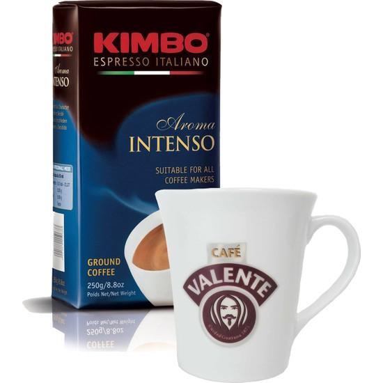 Cafe Valente Kupa 250 gr Kimbo Filtre Kahve Set