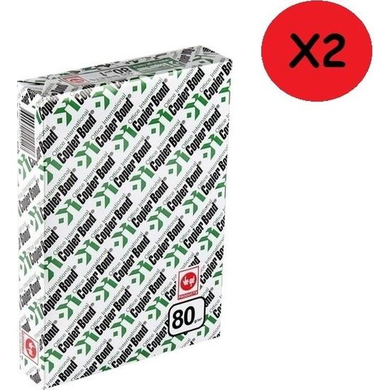 Ve-Ge Copier Bond A4 80 g/m² 1.000 Ad Fotokopi Kağıdı (2'li Paket)