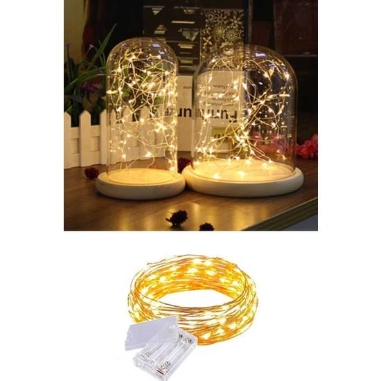 Deconorm Peri LED Işık 5 Metre (Sarı)