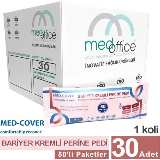 Med-Cover Bariyer Kremli Perine Pedi 50'li - 30 Adet