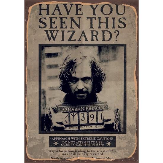 Marple's Harry Potter Sirius Black 35x50 Rustik Poster