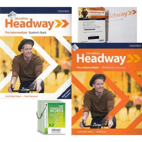 Headway 5th Edition Pre-Intermediate Kodlu Set & Pre-Intermediate Kelime Kartı A2