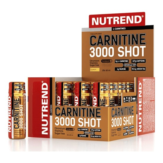 Nutrend Carnitine 3000 Shot 60 Ml*20 Ampül