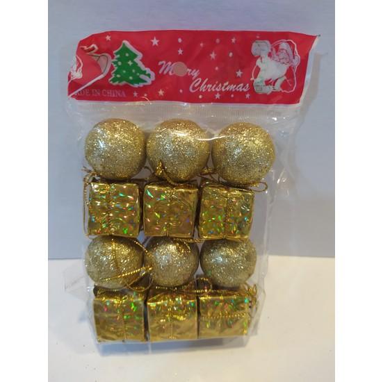 Mavi Boncuk Yılbaşı Noel Ağacı Dekor Süsleri