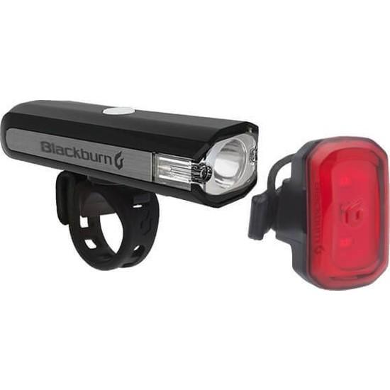 Blackburn Central 200 ve Click USB Şarjlı Ön Arka Bisiklet Aydınlatması