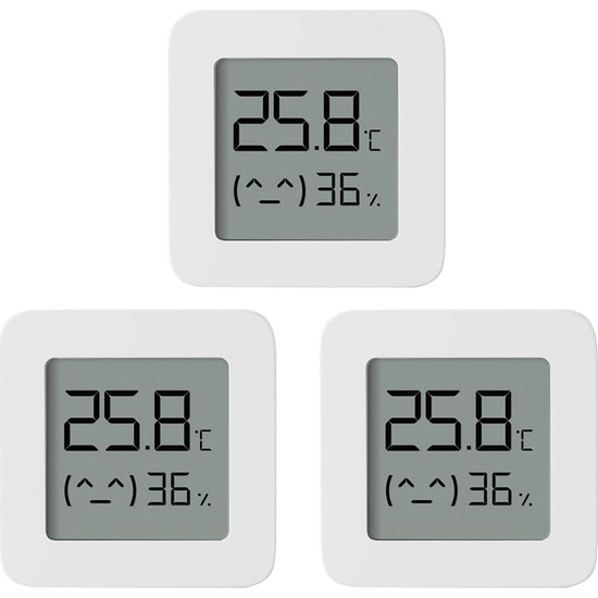 Xiaomi Bt Termometre 2 Kablosuz Akıllı Elektrikli 3'lü