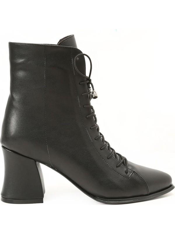 Ayakkabı Çarşı Kadın Günlük Topuklu Bot