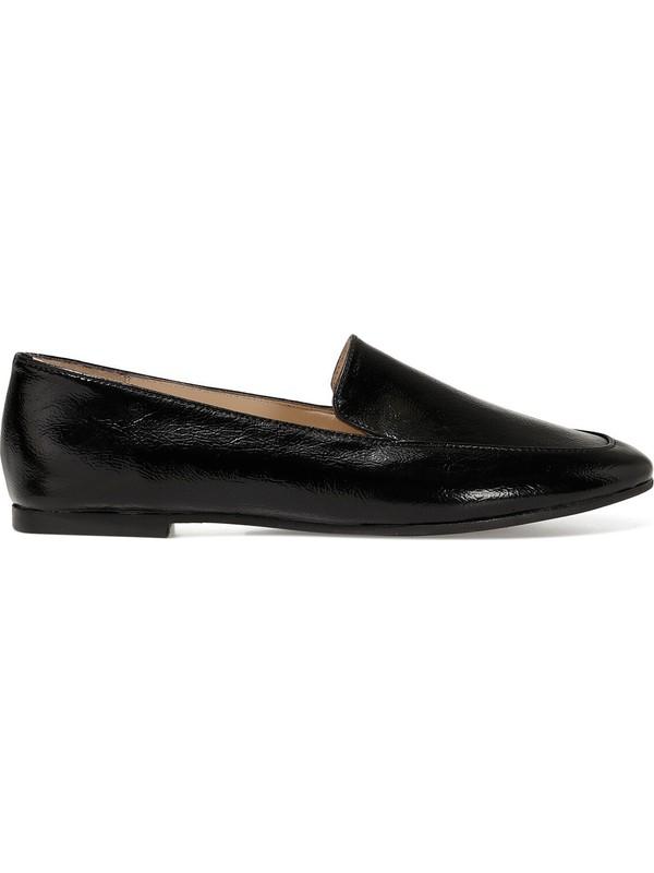 Nine West Lefur Siyah Kadın Loafer Ayakkabı