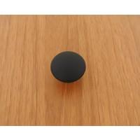 Azm Hırdavat Metax Kulp Düğme Mat Siyah Düz Düğme