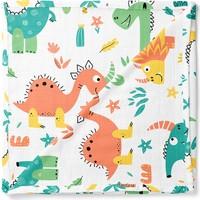 Lunanino Müslin Çok Amaçlı Bebek Battaniyesi Dinozor