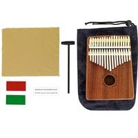 Kalimba Full Set + 200 Şarkı Notası ve Türkçe Eğitim Videosu