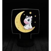 eJOYA Modern Desenli 3 Boyutlu 3D Led Gece Lambası 90226