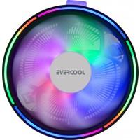 Evercool Cs-13 130X130X85MM 1800RPM Intel 775/115X/AMD 2+3-4-Fm1 Cpu Fan