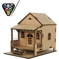 Usta Çocuk Yayla Evi Maket Yapımı ve Boyama Seti