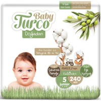 Baby Turco Doğadan 5 Numara Junıor 12-25 kg 240'LI