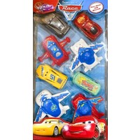 Enfal Toy Renkli 8'li Oyuncak Araba Seti Sürtmeli Çek Bırak Oyuncak Araba