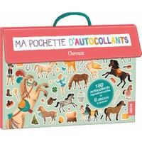 Ma pochette d'autocollants: Chevaux - Gaia Bordicchia