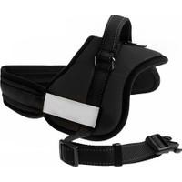 Ans Köpek Göğüs Tasması Xlarge Siyah 80-110 cm