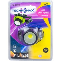 Technomax Kafa Feneri LED Ampüllü 3W TM-8000