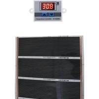 Ufuk Dağıtım 160X250 Dijital Termostatlı Halı Altı Karbon Isıtıcı