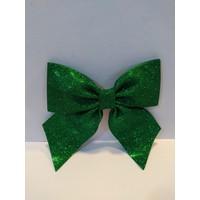 Mavi Boncuk Yılbaşı Simli Yeşil Fiyonk