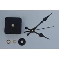 Eniyisiniiste Akar Sessiz Duvar Saati Mekanizması 16 mm -Akrep-Yelkovan-Saniye-