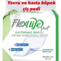 Flexi Life Kaydırmaaz Bantlı Köpek Çiş Pedi 60X90 30 Lu