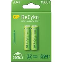 GP 2'li ReCyko 1300 Serisi NiMH AA Kalem Boy Şarjlı Pil(GP130AAHCEMTR-2GB2)