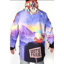 Tıklaalbeni South Park Unisex Kayak Montu, Snowsea Snowboard Montu / SS5585