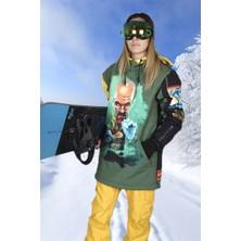 Snowsea SS5590 Breaking Bad Kadın Kayak Montu, Snowboard Montu