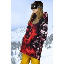 Snowsea Marka Red Skull Bayan Snowboard ve Kayak Montu SS5588