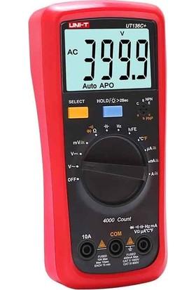 Uni-T UT136C+ 1000V 10A Dijital Multimetre Ölçü Aleti
